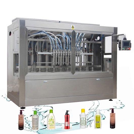 Linha de enchimento líquida automática resistente à corrosão máquina de enchimento do detergente para a roupa
