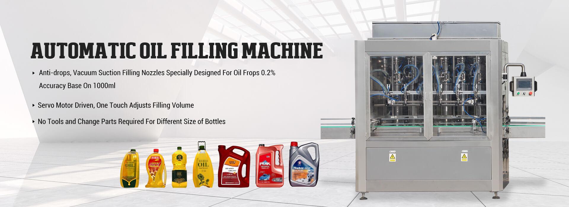 Máquina de enchimento de óleo