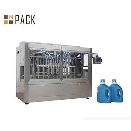 Máquina de enchimento líquida da garrafa detergente líquida automática do gel do chuveiro