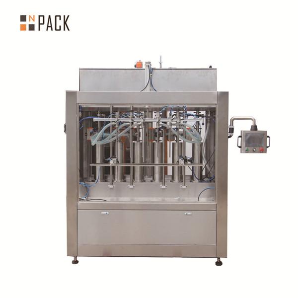 Máquina de enchimento líquida da pasta de creme pneumática para o enchimento de garrafas